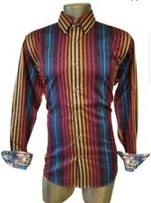 ROBERT GRAHAM MULTI COLOR STRIPED SHIRT LONG SLEEVES  SIZE XL nwot