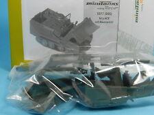 ROCO MINITANKS BAUSATZ 5077 600 M9 ACE MIT RÄUMSCHILD 1:87