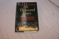 1965 4th Printing a Thousand days John F Kennedy Arthur Schlesinger Jr Hardcover