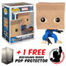 FUNKO POP MARVEL SPIDER-MAN BOMBASTIC BAG-MAN EXCLUSIVE + FREE POP PROTECTOR