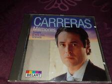 CD Jose Carreras / Memories - Album