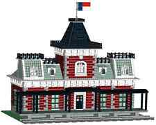 LEGO Custom Victorian Train Station Instructions