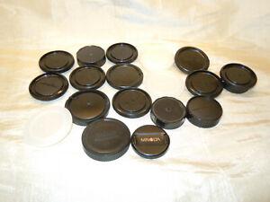 USED Assorted Lens & Body Caps For Minolta MD & AF Cameras/Lenses