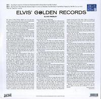 ELVIS PRESLEY - ELVIS' GOLDEN RECORDS   VINYL LP NEW