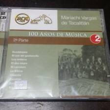 Mariachi Vargas de Tecalitlan 100 Anos de Musica 2a parte 2CD New Nuevo