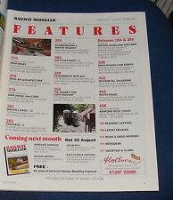 RAILWAY MODELLER VOLUME 51 NUMBER 598 AUGUST 2000 - BENFORDBY
