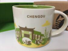 Starbucks 2017 China YAH Chengdu You Are Here Mug