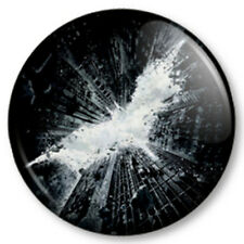 Batman Dark Knight Rises 25mm Pin Button Badge Superhero DC Comics Bruce Wayne