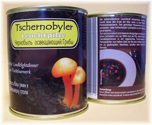 TSCHERNOBYLER LEUCHT PILZE Gourtmet Essen f. liebe Kids