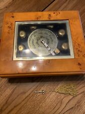 Mr. Christmas Gold Label Musical Bell Symphonium w 10 Discs Music Box