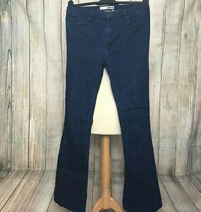 Gorgeous Blue Denim TOPSHOP Bootcut Jeans Size W28 L32 VGC