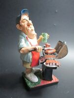 Grillmeister Grillen Funny Beruf Poly Figur Profession 17 cm Neu
