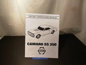 Camaro SS 350 Racing Operation Manual