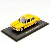 1/43 LEO Alloy TAXI Car Model  Vehicles Peugeot 504-Lagos 1977 Diecast Toy Gift