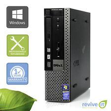 Dell Optiplex 9020 USFF  i5-4590S 3.00GHz 4GB 500GB Win 10 Pro 1 Yr Wty