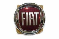 Original Emblem Badge FIAT VERCHROMT Ø 100mm 10cm Fiat 500 Tipo usw 3pin Vorne