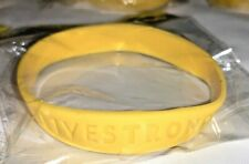 6- NIKE LIVESTRONG BANDS BAND WRISTBANDS YELLOW LANCE ARMSTRONG
