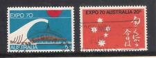 (UXAU002) AUSTRALIA 1970 World Expo '70 at Osaka Japan fine used set