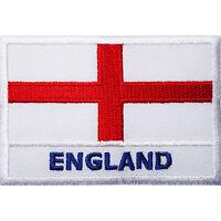 England Flag Embroidered Iron Sew On Patch United Kingdom UK English Shirt Badge
