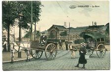CPA - Cartes Postales - Belgique - Charleroi - La Gare ( I10636)