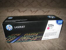 HP Q3963A Magenta Toner Cartridge OEM Genuine NEW 122A LaserJet 2550 2820 2840