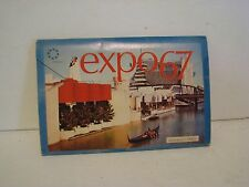 Vintage Postcard Booklet of 6 - Montreal Expo 67 - Canada -