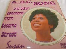 "SUSAN - A.B.C. SONG - SESAME STREET - OZ 7"" EP PIC/SLV VINYL - COUNTING SONG"
