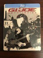 GI JOE RETALIATION Blu-Ray Steelbook - SEALED!!!