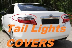 Toyota Camry V40 Eyebrows Eyelids Tail Lights Cover 2009-2011 Set Unpainted