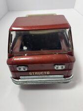 Vintage Brown Metal Structo Toy Truck