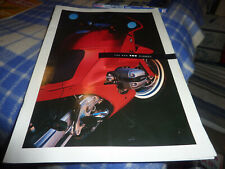 "1993 BMW R1100RS OVERSIZE Motorcycle brochure 12"" x 17"""