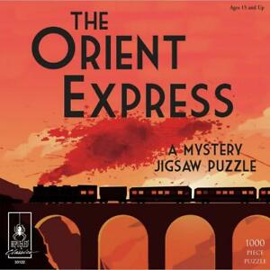 Bepuzzled Classics Murder on the Orient Express Jigsaw Puzzle  1000pc