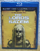 THE LORDS OF SALEM - ROB ZOMBIE - BLU-RAY & DVD(No Ultraviolet Download)