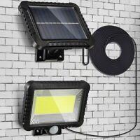 Waterproof Solar Power Motion Sensor Light Security Flood Outdoor Indoor Lamp