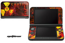 Skin Decal Wrap for Nintendo 3DS XL Gaming Handheld Sticker 12-15 MELTDOWN