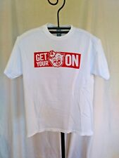 T SHIRT PIGGLY WIGGLY WHITE MEDIUM GET YOUR PIG ON GUC