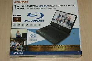 Sylvania Portable Blu-Ray DVD Media Player SDVD1336 HD New 1336