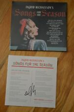 """Ingrid Michaelson ~  """" Songs For The Season """"  Autographed CD with COA"""