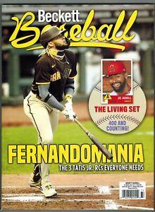 Beckett Baseball Price Guide May 2021 Fernando Tatis Jr and Jo Adell Cover #182