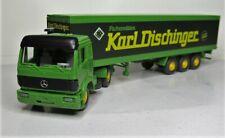 Wiking / Faller 1:87 Mercedes Benz SK 1735 Koffersattelz OVP 984 Karl Dischinger