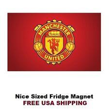 168 Manchester United Logo Flag Soccer Refrigerator Fridge Man Cave Magnet