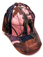 Camouflage Camo Hardwoods RealTree Women's Pink Hat Cap Range Hunting Fishing