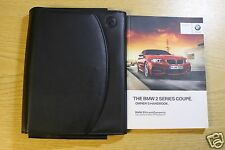 BMW 2 Coupé F22 Manual Owners Manual Cartera 2013-2016 Pack 5862