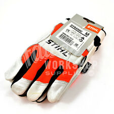 GENUINE STIHL DYNAMIC CHAINSAW GLOVES MEDIUM SIZE FORESTRY CHAIN SAW ARBORIST