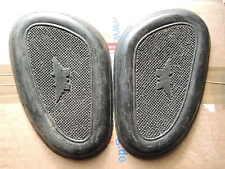 Matchless AJS PETROL TANK GOMMA BADGE Knee grip rubber gomme SERBATOIO m18 m16 S CS