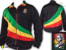 Jacket Veste Doublé Rasta Rastafari Jamaica Baby Logo Brodé taille unique