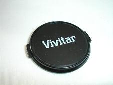 VIVITAR 49mm front lens cap Japan. white logo on black #3480