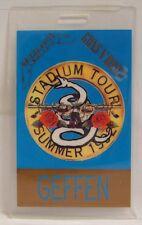 METALLICA / GUNS N ROSES - ORIGINAL LAMINATE 1992 CONCERT TOUR PASS