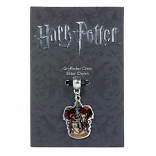 Official HARRY POTTER Jewellery Silver Plated GRYFFINDOR CREST Slider Charm