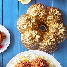 NEW SUR LA TABLE NORDIC WARE BUNDT ALOHA FLOWER CAKELET CAKE PAN JELLO MOLD